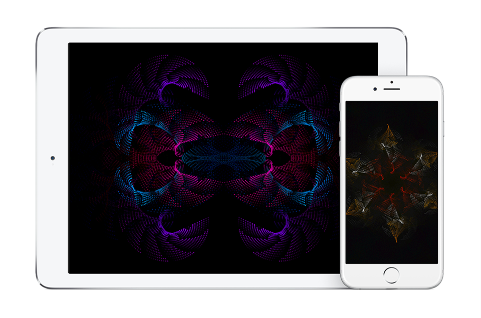 Ellipsis Visuals application on iPhone & iPad